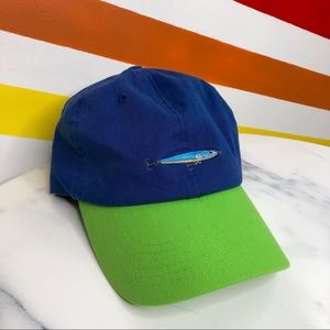 NEW Urban Outfitters fishing lure embroidered hat